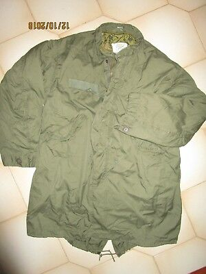 M65 Fishtail Parka,original Usa Medium Reg With Liner,no Hood,used In Excl Cond