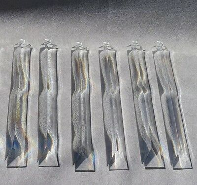 """Acrylic Lucite Chandelier Prisms Triangle Ceiling Fixture Lamps 1~10"""""""