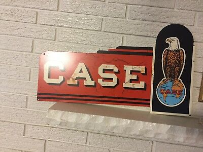 """Reproduction Case  Tractor Farm Equipment Laser Cut Out Flanged Sign  27.5"""""""