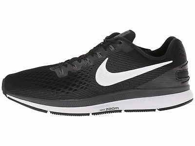 6cfaa016e7fc0 MEN S NIKE AIR ZOOM PEGASUS 34 FLYEASE SHOES black white grey 904678 ...