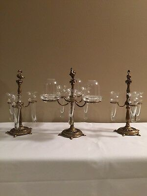 Fairy Lamp With Matching Epergne