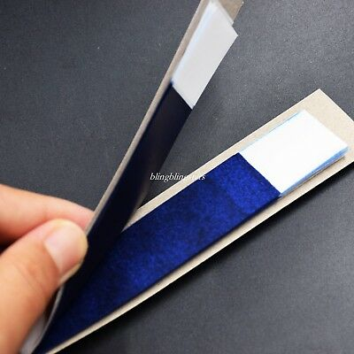 200 sheets Dental Articulating Paper Practical Soft Thin Strips 1 Box Blue