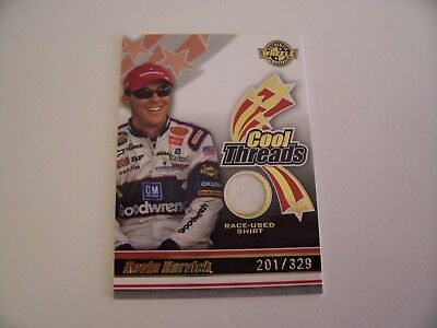 KEVIN HARVICK 2006 WHEELS AMERICAN THUNDER COOL THREADS RACE USED SHIRT #ed/