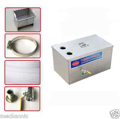 Stainless Steel Grease Trap Interceptor for Restaurant Kitchen Wastewater S