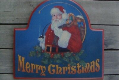 """Ronnie Bringle holiday tole painting pattern """"Merry Christmas"""""""