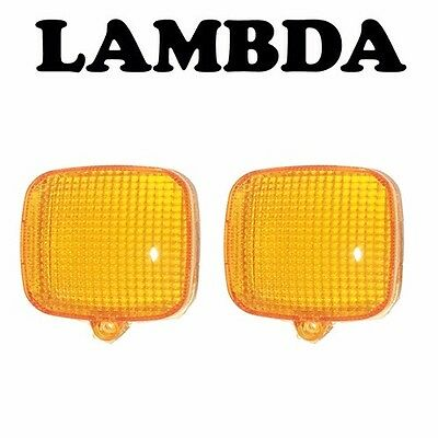 Indicator Lens x2 for CT110 Honda Postie Bikes