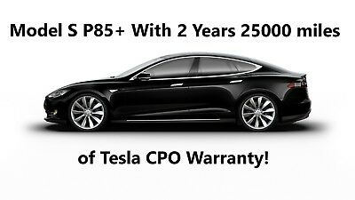 2013 Tesla Model S P85+ Rare Find With 2 Years Tesla CPO Warranty, Clean Title Low Miles Great Condition