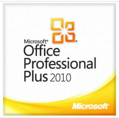 Office Professional Plus 2010 genuine product key 32/64 bit