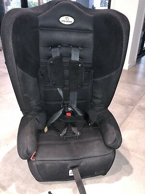 InfaSecure Car Seat 6 Month - 4 Yrs Black