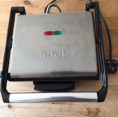 Tefal Gc241d40 Inicio Multi-function Grill Panini Sandwich Press Meat Griddle
