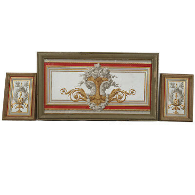 Frames decorative style Louis XVI, top door