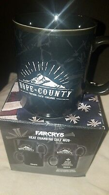 Farcry 5 Heat Changing Cult Mug  New In Box Exclusive Gamestop Ubisoft