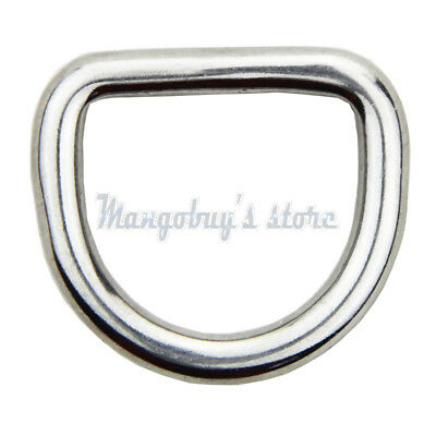 5)Delta & O & D Ring rings A4 316 stainless steel polished welded 15 20 25 30 mm