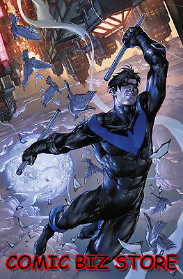Nightwing #51 (2018) 1St Printing Poerter Variant Cover Bagged & Boarded Dc