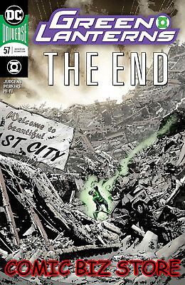 Green Lanterns #57 (2018) 1St Print Perkins Main Cover Bagged & Boarded Dc Univ