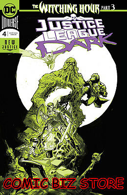 Justice League Dark #4 (2018) 1St Printing Rossmo Foil Cover Witching Hour Dc