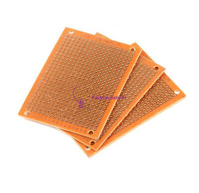 10Pcs 5 x 7 cm DIY Prototype Paper PCB fr4 Universal Board prototyping pcb NEW