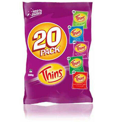 Thins Variety Multi Packs 20 380g