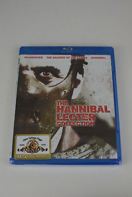 The Hannibal Lecter Collection (Blu-ray) New