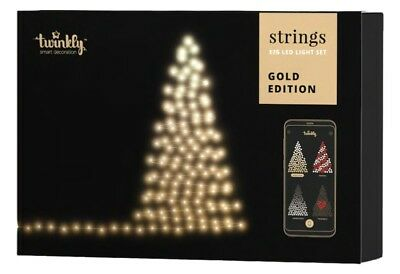 Twinkly Strings Filo di Luci Smart 175 Led Golden