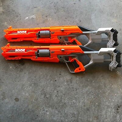 Nerf Gun N-Strike Elite AccuStrike Series AlphaHawk with Scope and 10 Foam Darts