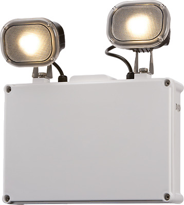 Knightsbridge Emtwin65 230V Ip65 2X3W Led Twinspot Non-Maintained Emergency Ligh