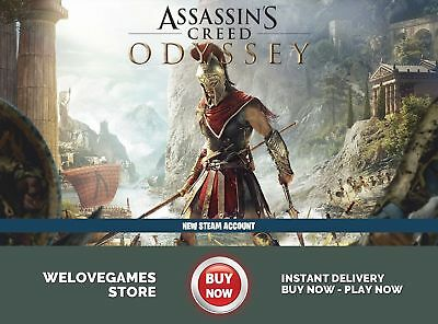 Assassin's Creed Odyssey (Pc / Steam) No Key/code - Global [Digital Download]