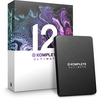 Native Instruments Komplete 12 Ultimate Update fro