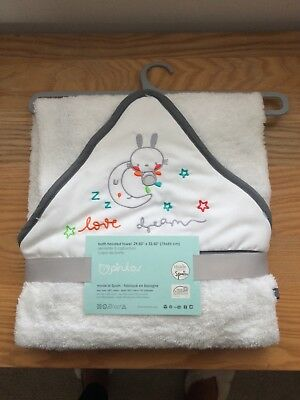 Tk maxx baby hooded towel new