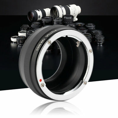 Practical For OLYMPUS OM Camera Lens Adapter Rings To For Panasonic GF1 GF2