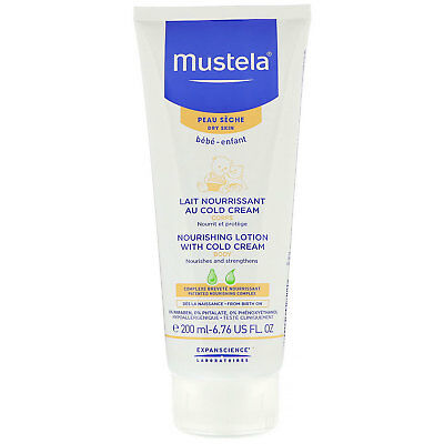 Mustela, Baby, Nourishing Body Lotion With Cold Cream, For Dry Skin, 6.76 fl oz