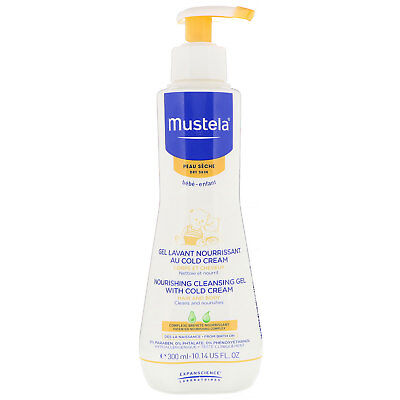 Mustela, Baby, Nourishing Cleansing Gel With Cold Cream, For Dry Skin, 300 ML