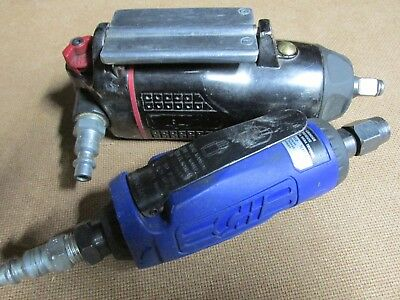"""Craftsman 3/8 Inch Drive  Butterfly Impact Wrench & 1/4"""" C/H Die Grinder"""