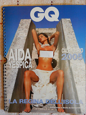 SUPER SEXY! Calendario GQ 2005 - Aida Yespica - Uh, baby!