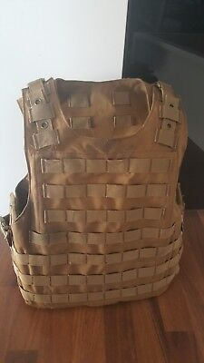 Tan/Coyote Brown Airsoft Weste Molle Quick Release System (8fields)