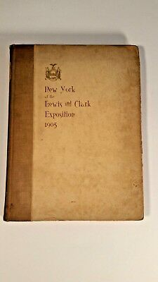 New York at the Lewis and Clark Exposition 1905 1st Edition hard cover book