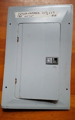 C-H cutler hammer BR type electrical panel cover circuit breaker box cover