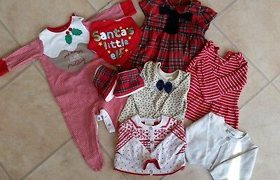 Baby Girl Christmas Bundle (3-6 months) Next and Mothercare