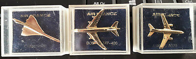 Pin's Air France Concorde Airbus A320 Boeing 747