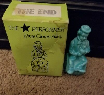 """MOSSER GLASS """"THE PERFORMER FROM CLOWN ALLEY~~1982~~THE END,star,"""