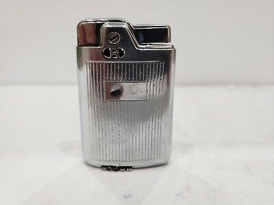 Vintage Working Ronson Capri Silver Lighter