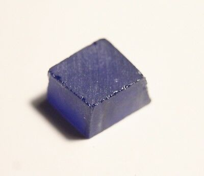 20.4ct Yttrium Aluminium Garnet Rough - Sapphire Blue YAG - Lapidary Rough