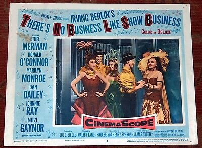 Marilyn Monroe Lobby Card There's No Business Like Show Business 1954 Original