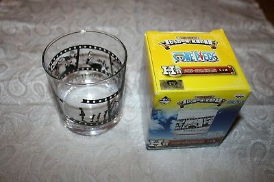 """Anime """"One Piece """"Whisky Glas""""  Straw Hat Crew 4 Made in Japan Super selten!"""