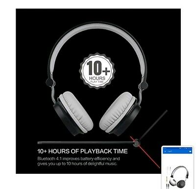 OneOdio Lightweight Bluetooth Headphones – On-Ear Wired/Wireless Foldable Hea...