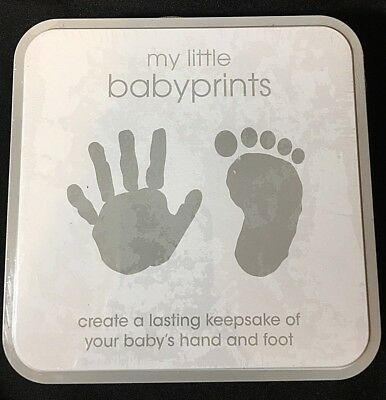 Pearhead Baby Hand And Foot Print Keepsake with Easel Memory Baby Gift