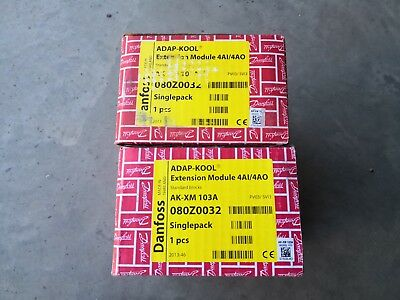 Danfoss AK-XM 103A Extension Module 4AI/4AO ADAP-KOOL New OPEN BOX