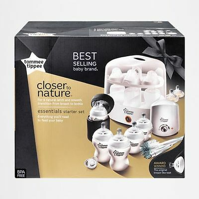 NEW Tommee Tippee Closer To Nature Essentials Kit