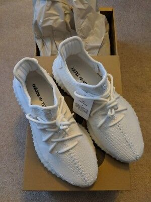 7cb108bc3 Adidas Yeezy Boost 350 V2 CREAM Triple White CP9366 YZY Kanye AUTHENTIC SIZE  10