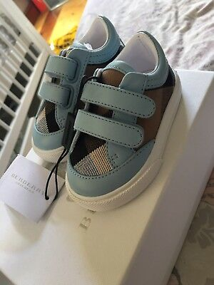 Baby Boy Burberry Trainers SIZE 2